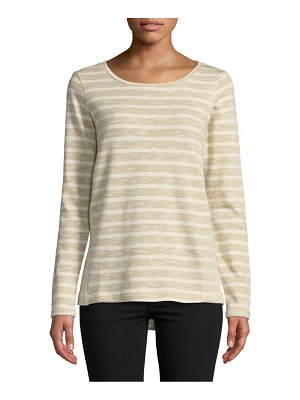 Alexander Jordan Striped Roundneck French Terry