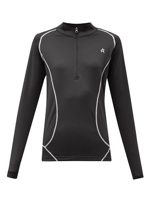 Perfect Moment half zip technical jersey thermal top