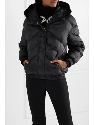 Perfect Moment oversized hooded quilted shell down jacket