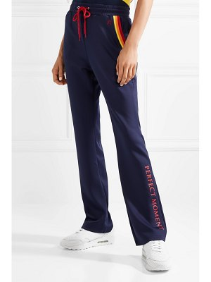 Perfect Moment printed stretch-jersey track pants