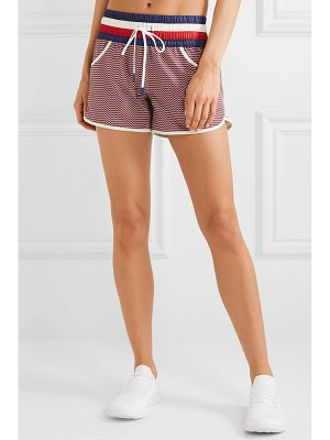 Perfect Moment printed stretch shorts