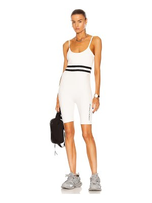 Perfect Moment seamless stripe fitness suit