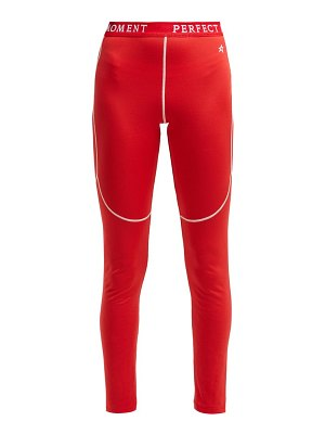 Perfect Moment Thermal Stretch Jersey Leggings