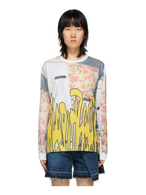 Perks And Mini multicolor oversized go to real life long sleeve t-shirt