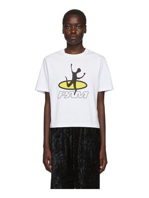 Perks And Mini white disc man t-shirt