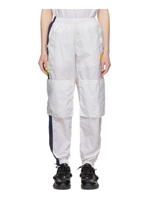 Perks And Mini white space in space track pants