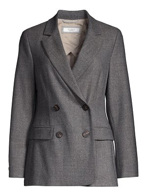 Peserico double breasted wool blazer