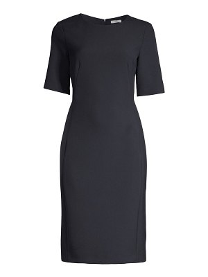 Peserico stretch ponte sheath dress