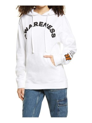 Petals and Peacocks awareness butterfly graphic hoodie
