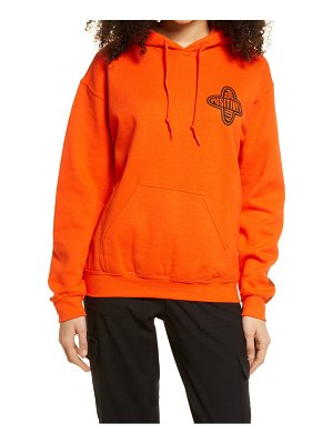 Petals and Peacocks positivity graphic hoodie