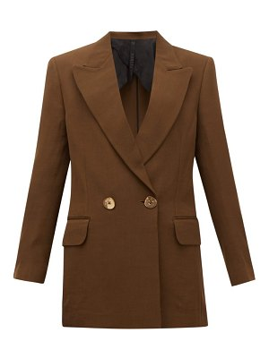 Petar Petrov double-breasted wool-blend jacket