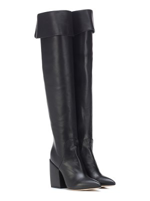 Petar Petrov Shirin over-the-knee leather boots