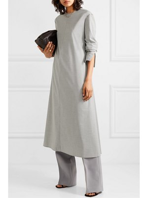 Peter Do belted cady midi dress