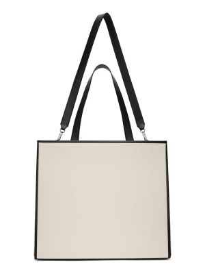 Peter Do off-white and black medea edition airport tote
