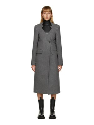 Peter Do wool cut-out oversized coat