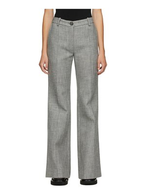 Peter Do wool flared trousers