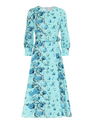 Peter Pilotto floral belted midi dress