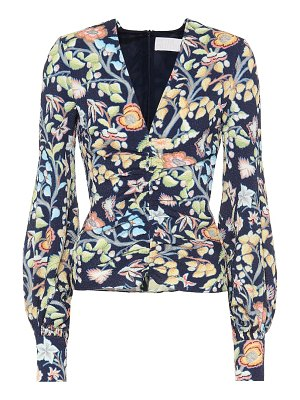 Peter Pilotto floral blouse