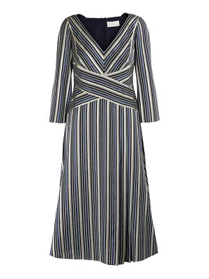 Peter Pilotto Lurex striped maxi dress