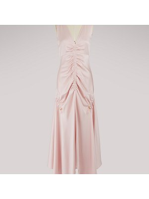 Peter Pilotto Ruched satin dress