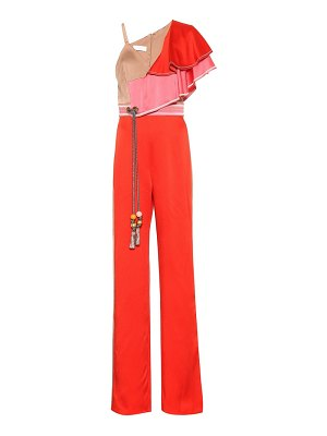 Peter Pilotto Ruffled cady jumpsuit