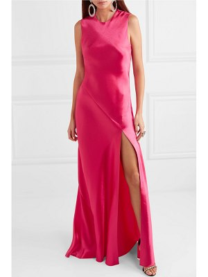 Philosophy di Lorenzo Serafini hammered-satin gown
