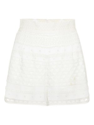 Philosophy di Lorenzo Serafini Jacquard high-waisted shorts
