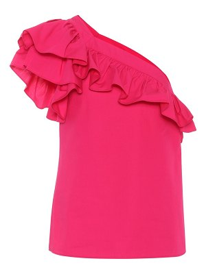 Philosophy di Lorenzo Serafini One-shoulder cotton top