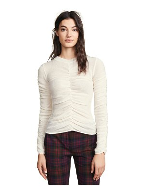 Philosophy di Lorenzo Serafini ruched front sweater