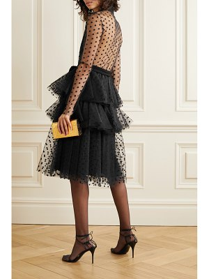 Philosophy di Lorenzo Serafini tiered embroidered tulle dress