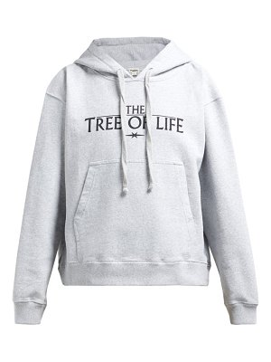 Phipps tree of life organic cotton hooded sweatshirt