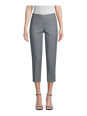 Piazza Sempione audrey printed stretch cropped pants