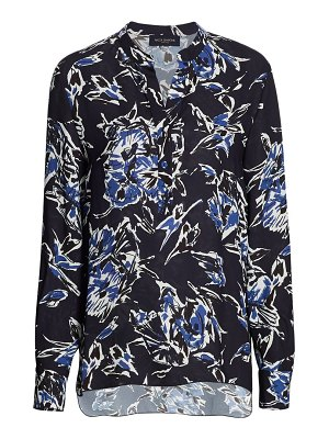 Piazza Sempione floral long-sleeve shirt