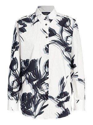 Piazza Sempione flow abstract print button down shirt