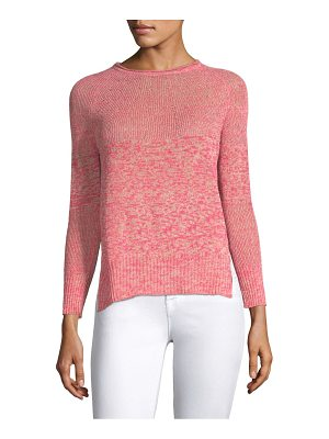 Piazza Sempione ribbed melange knit sweater