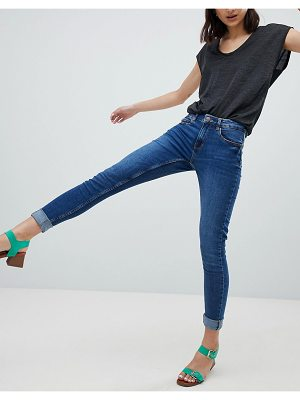 Pieces Five High Waisted Skinny Jeans