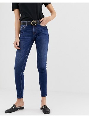 Pieces five skinny jeans-blue