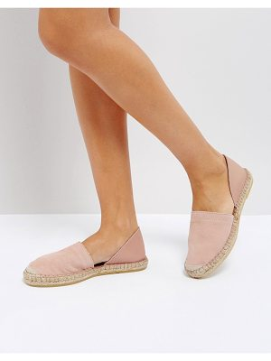 Pieces Leather Espadrilles