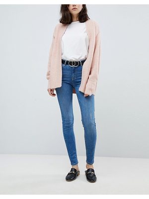 Pieces mid rise skinny jean