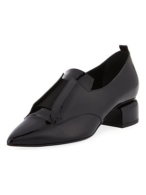 Pierre Hardy Billy Patent Stretch-Band Loafer