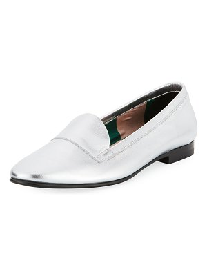 Pierre Hardy Jacno Metallic Flat Loafers