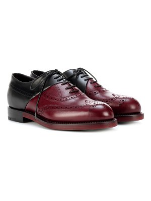 Pierre Hardy Leather Oxford shoes