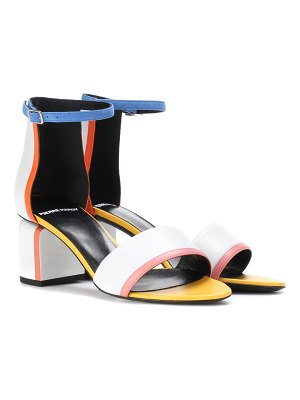 Pierre Hardy rally leather sandals