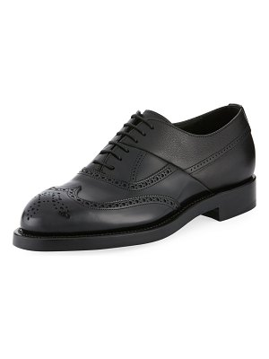 Pierre Hardy Twin Perforated Oxford Shoes