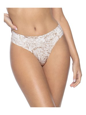 PilyQ High-Waist Full-Coverage Bikini Bottoms