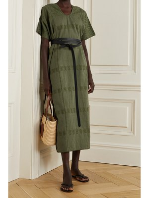 PIPPA HOLT net sustain embroidered cotton huipil