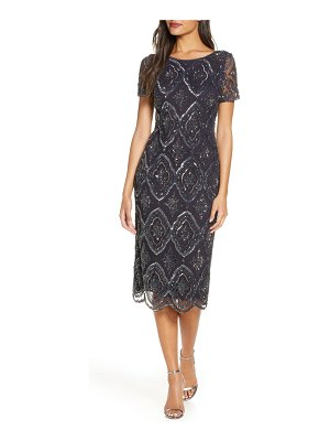 Pisarro Nights stain glass beaded cocktail dress