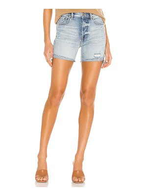 Pistola devin high rise mom cut off short