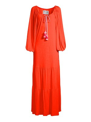 Pitusa pima tassel pea dress