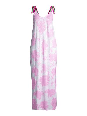 Pitusa tie-dye maxi dress